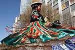 Festividad de Urkupiña en Cochabamba