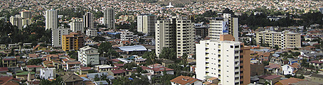 Cochabamba, Panoramic view of the city. Cochabamba Travel Guide, Bolivia