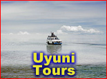 Salt flats tours in Uyuni, Bolivia
