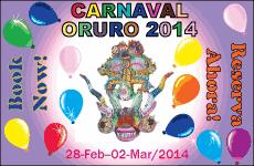 Carnaval Oruro 2013. Oruro, Bolivia