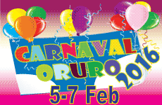 Carnaval Oruro 2017. Oruro, Bolivia