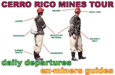 Tour Minas de Potosi. Potosi, Bolivia